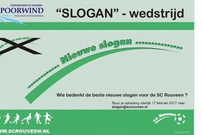 SLOGAN-WEDSTRIJD